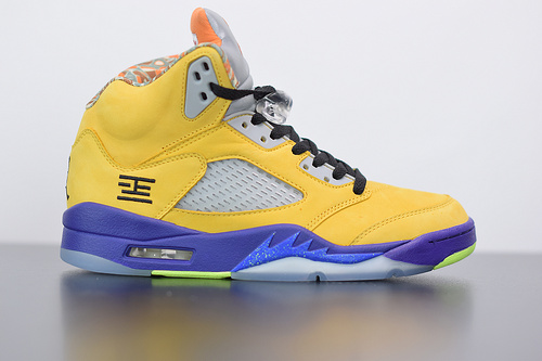 "H03T6 Air Jordan 5 ""What The""鸳鸯整双鞋将 ""What The""   CZ5725-700尺码40-47.5"