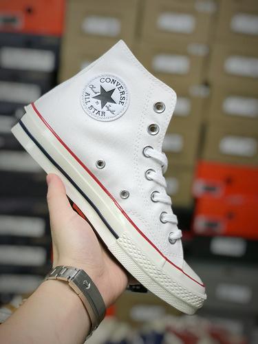 D03G3 Converse All Star 1970S二代 匡威 三星黑标 硫化鞋底 男女 帆布鞋35-44
