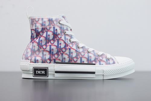 "B03B6 高帮 B23 Oblique Sneakers""CD重影""全套原装配件 36-46"