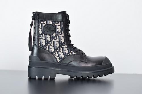 "Y09H4 敌奥 B23 Oblique High Top Sneakers印花高筒板鞋""PVC极光渐变""高帮 全套配件35-40"