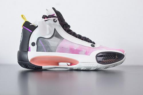 F07X4 AJ34 XXXIV PF AJ34 乔34 星空粉巴黎限定 未来概念轻量化篮球鞋 CZ7752-601尺码39-46