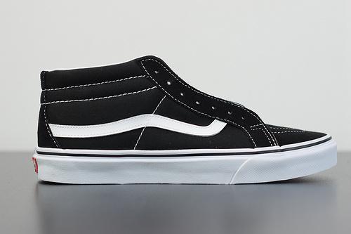 Q01L3 VANS经典黑白中帮男女板鞋 VN0A391F6BT 尺码:35-44
