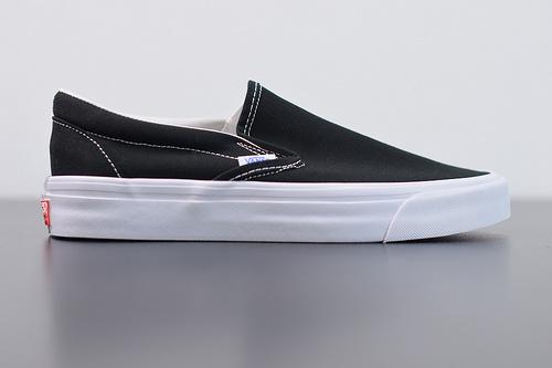 R02F3 Vans Vault高端支线 纯黑一脚蹬35-44带半码
