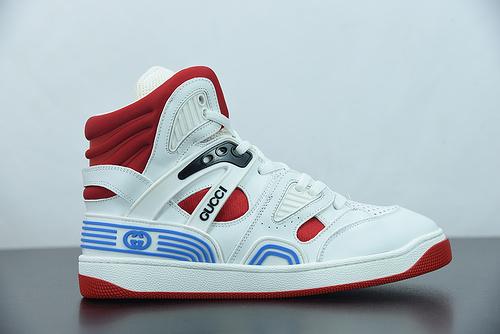 Y00H6 古驰 20S Basket 高帮复古撞色休闲板鞋尺码:35-45