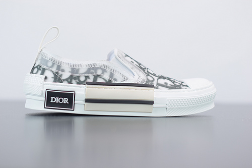 """G05G5  B23 Oblique Low Top Sneakers 敌奥""""CD重影""""全套原装配件35-45"""