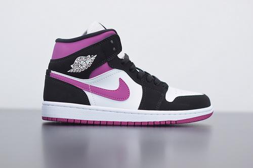 D03D4  Air Jordan 1 Mid Magenta AJ1 乔丹1代中帮篮球鞋BQ6472-005尺码36-46