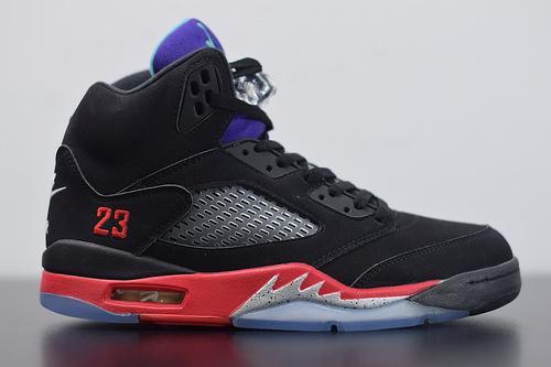 G08G5 Air Jordan 5 AJ5 top3 黑紫葡萄 黑红紫 乔5 CZ1786-001尺码36-45
