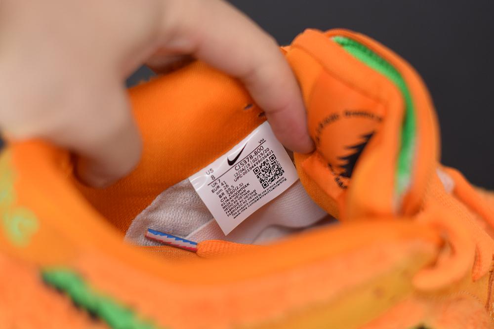 K00K6 HK纯原 SBdunk橙色跳舞小熊!   100%原毛、36-47.5