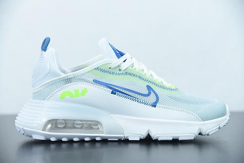 "H07G3 Nk Air Max 2090""White/Pure Platinum""未来科幻太空气休垫闲运慢动跑鞋"" 货号:CZ1708-002 尺码:39-45"