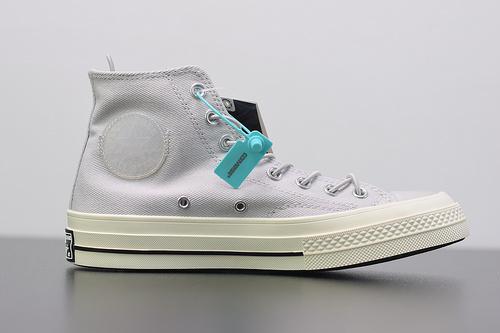 W02Z3 匡威 Converse Chuck 70 Hi 1802 高帮休闲运动硫化百搭板鞋  货号:165085C 鞋码:35-44