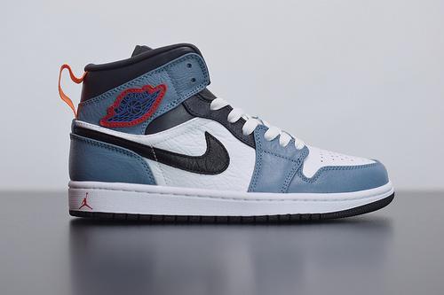 D03D4  Air Jordan 1 Mid AJ1 中帮篮球鞋货号:CU2802-100尺码36-46