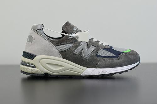 X02C4 新版本  NEW BALANCE 990V2美产余文乐同款复古慢跑鞋 M990MD2 2019年度 990复古时尚老爹鞋36-45