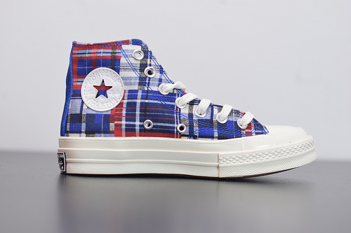 R04F3  Converse 70s Twisted Prep 匡威全新格纹控撞色系列高帮休闲板鞋 166849C尺码35-44