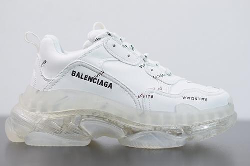 H05G6 Balenciaga Triple S 纯白弹幕35-46