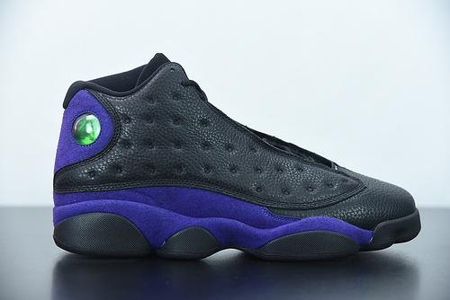 D05G6 Air Jordan 13  乔丹13篮球鞋/黑紫葡萄 原装真猫眼 货号:DJ5982-015尺码: 40-47.5