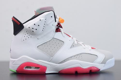 G08G5 Air Jordan 6 Hare AJ6 乔丹6代篮球鞋/兔八哥 白红彩蛋CT8529-062尺码40-47.5