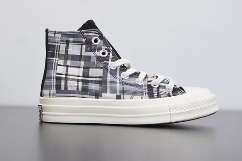 R04F3 Converse 70s Twisted Prep 匡威全新格纹控撞色系列高帮休闲板鞋 166850C尺码35-44