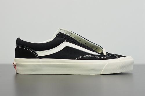 Q01L3 VANS Vault OG Style 36 LX 高端支线黑白板鞋货号 VN0A4BVEN8K 尺码 35-44