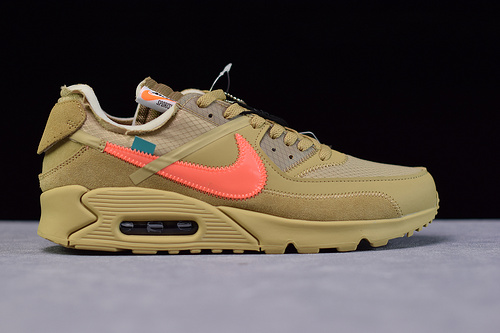 OFF-WHITE x Air Max 90 沙漠配色 AA7293-200 尺码 36-48
