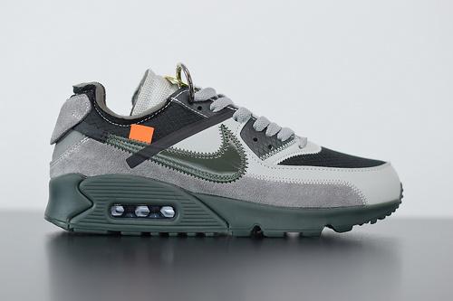 D07Y5 Off White PW联名Max90 灰黑定制    外贸定制!纯原裸鞋 鞋盒 size40-47.5
