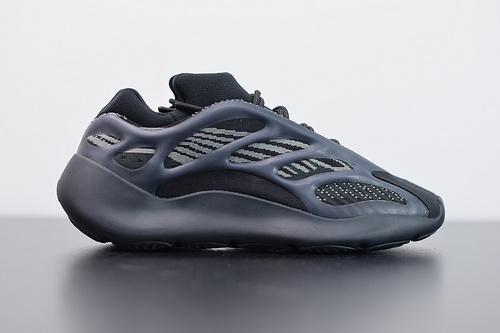 L00J6  Adidas Yeezy 700 V3 椰子复古老爹鞋/黑武士 夜光面 H67799 货号 36-47