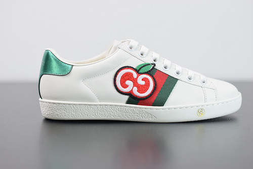 Y07H5 GUCCI古驰 Ace Embroidered Low-Top拼色刺绣系列低帮潮流百搭休闲板鞋35-44