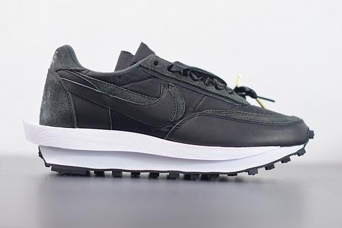 Sacai x Nike LVD Waffle Daybreak 2.0 黑色丝绸   BV0073-002   36-46
