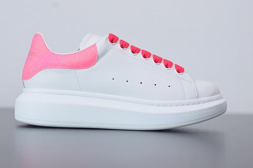 B07B5 Alexander McQueen sole sneakers低帮桃红尾女35-39 男40-44