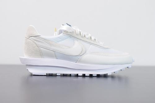 M01M5  纯原 Sacai x Nike LVD Waffle Daybreak 联名走秀款 丝绸白 BV0073-101尺码36-46