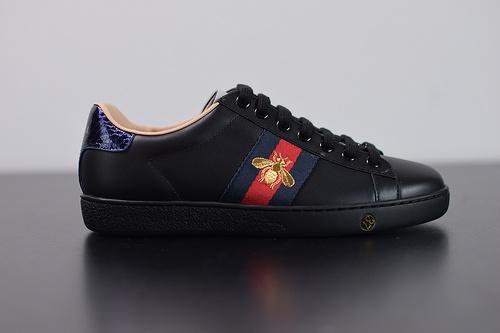 Y07H5 GUCCI古驰 Ace Embroidered Low-Top拼色刺绣系列低帮潮流百搭休闲板鞋刺绣小蜜蜂 35-44
