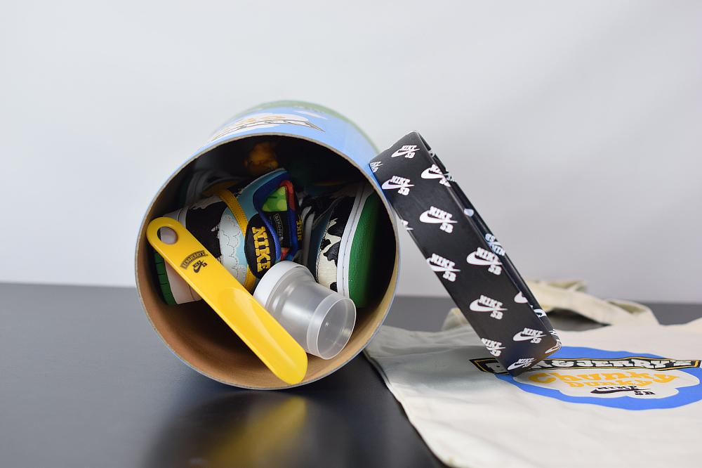 "S00S6 正确 Ben & Jerry's x Nike SB Dunk Low Pro QS""Chunky Dunky""牛奶冰淇淋 CU3244-100尺码40-47.5"