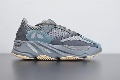 "L05J6  Adidas Yeezy 700 Boost ""Teal Blue""  青蓝  货号:FW2499 尺码36-46"