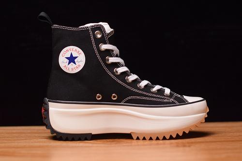 Converse/匡威 xjwanderson 厚底高帮滑板鞋 164665C 黑白 高帮 增高鞋 35-40