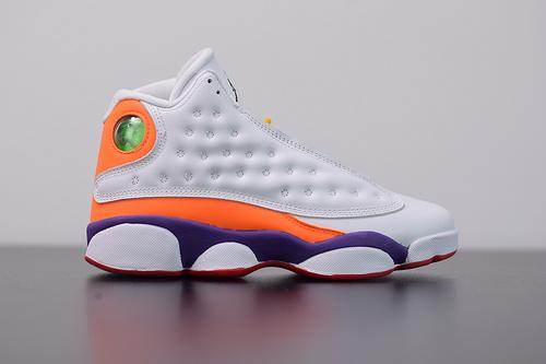 X01L5 Air Jordan 13 Playground AJ13橙黄鸳鸯撞色 货号:CV0785-158 尺码:36-40含半码
