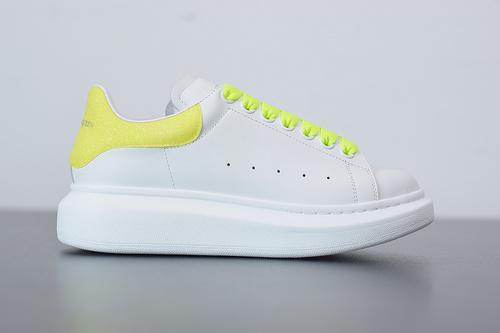 B07B5 Alexander McQueen sole sneakers低帮黄尾女35-39 男40-44