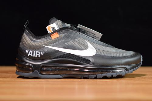 Off-White X Nike Air Max 97 OG OW子弹联名AJ4585-101尺码36-46带半码