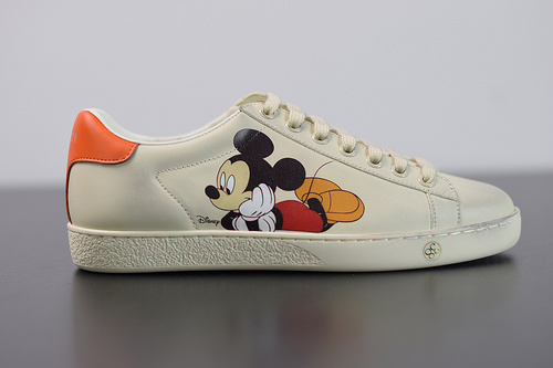 Y00H6  GUCCI Ace Embroidered Low-Top 迪士尼联名 米老鼠90周年限定 35-44(偏大一码)
