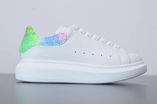 B07B5 Alexander McQueen sole sneakers低帮彩虹尾女35-39 男40-44