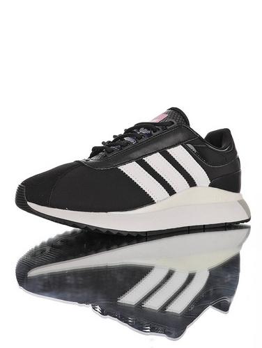 SL ANDRIDGE W 阿迪达斯 安德里奇系列复古休闲运动慢跑鞋 黑白灰配色 EF5544