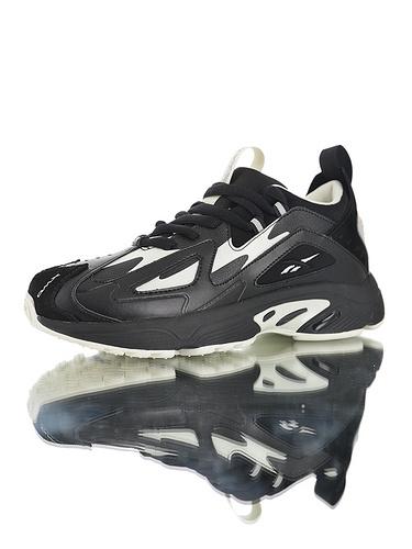Wanna One x Reebok DMX Series1200 团体代言款 销量冠军 正确磨具打造完美鞋型 复古休闲增高运动老爹慢跑鞋 黑奶油白灰配色