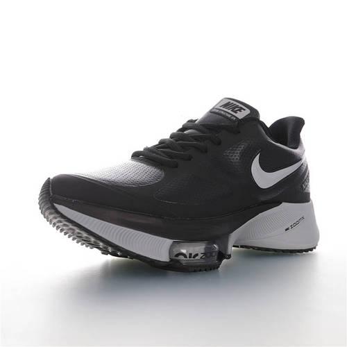 Nike Air Zoom WINFLO 37 X Leather 突破极致表现 2020全新耐克温夫洛37代马拉松气垫竞速慢跑鞋 冲孔皮革灰配色 CI9923-082
