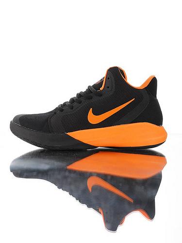 Nike Precision III Black Orange全新入门级球鞋 耐克精密三代系列休闲运动文化篮球鞋 黑橘黄配色