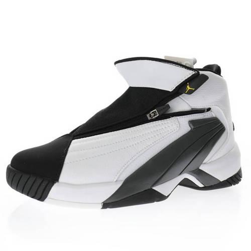 "Air Jordan Jumpman Swift OG""White/Black/Tour Yellow"" 白黑深灰黄 AT2555-100"