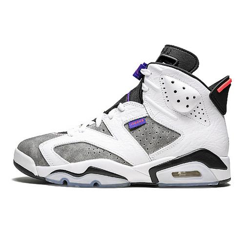 """Air Jordan 6 """"Flint Grey"""" GS 燧石灰白紫外线配色 CI3125-100"""