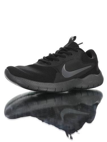 Nike Flex Experience RN 9 天猫长青基础款 耐克9代弹性实验系列轻量减震休闲慢跑鞋 黑碳灰配色 CD0225-004