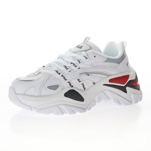 "Fila Sport Interaction 白银深蓝红3M反光""1JM00790-125"