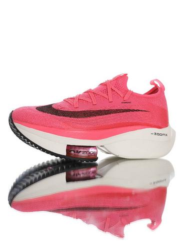 Air Zoom Alphafly NEXT% 2020全新耐克 助力运动员突破极限 破2代马拉松气垫超跑竞速运动慢跑鞋 玫瑰粉黑白配色 CI9925-022