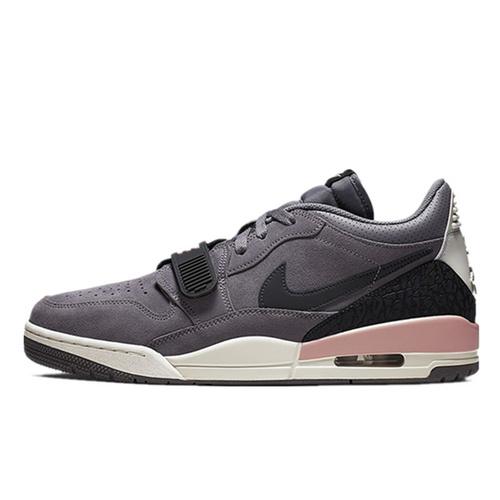 Jordan Legacy 312 Low  具开发打造完美鞋型 正确皮料无色差 乔丹混合版本低帮休闲运动篮球鞋 酷灰粉配色 CD7069-002