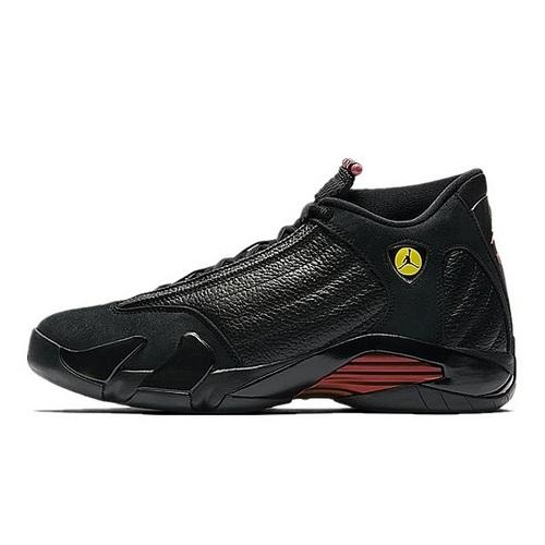 """Air Jordan 14 """"Last Shot"""" 最后一投纪念版 黑红配色 487471-003"""