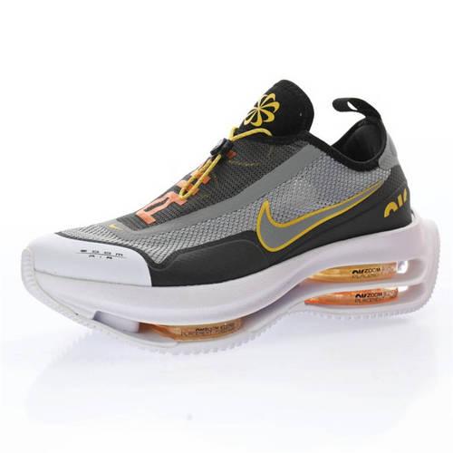"Nike Zoom Double Stacked ACG ""Black/Multicolor"" 飞织灰黑黄白 CI0804-826"